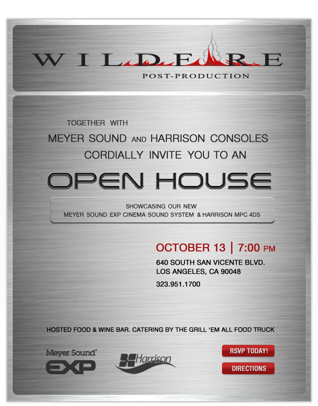 Wildfire Open House